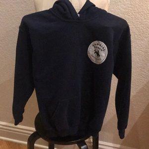 Rawhide Ranch hoodie sweatshirt by Gildan large